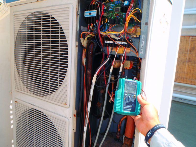 ダイキン(DAIKIN)業務用エアコン修理 ビル用マルチタイプ エラーコード・P1