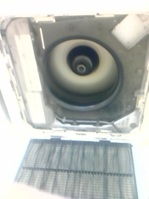 SANYO/三洋電機 業務用エアコン修理 エラーコード・P12 天井カセット形4方向吹き出し 施工日:2016年9月2日